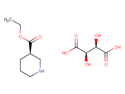 (R)-Ethyl piperidine-3-carboxylate (2R,3R)-2,3-dihydroxysuccinate 167392-57-6 1C10628 MFCD00799538