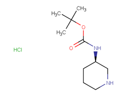 (R)-TERT-BUTYL PIPERIDIN-3-YLCARBAMATE HYDROCHLORIDE 1217656-59-1 1C10652 MFCD08275943