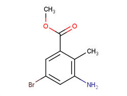 Methyl 3-amino-5-bromo-2-methylbenzoate 1000342-11-9 1C10821 MFCD08690071