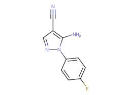 5-amino-1-(4-fluorophenyl)-1H-pyrazole-4-carbonitrile 51516-70-2 1C11556 MFCD00102729