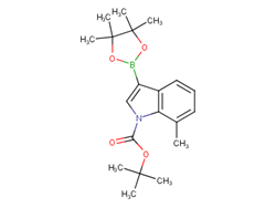 1-BOC-7-Methylindole-3-boronic acid, pinacol ester 1256360-03-8 1C57621 MFCD16295117