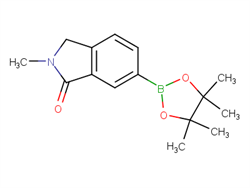 2-Methyl-6-(4,4,5,5-tetramethyl-1,3,2-dioxaborolan-2-yl)isoindolin-1-one 1313399-38-0 1C57659 MFCD12755781