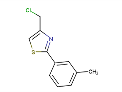 4-(chloromethyl)-2-(3-methylphenyl)-1,3-thiazole 41963-17-1 1C57860 MFCD03423390