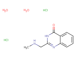 2-[(methylamino)methyl]-4(3H)-quinazolinone dihydrochloride dihydrate 143993-12-8 1C57962 MFCD26959603