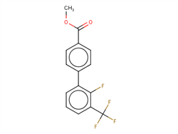 Methyl 4-[2-fluoro-3-(trifluoromethyl)phenyl]benzoate 1365273-05-7 1C58056 MFCD21609728