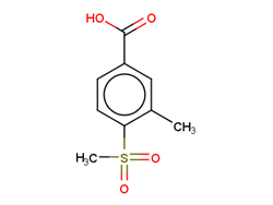 3-Methyl-4-(methylsulfonyl)benzoic Acid 1186663-65-9 1C58155 MFCD12828714