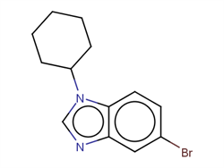 5-bromo-1-cyclohexyl-1h-benzo[d]imidazole 1199773-22-2 1C58322 MFCD13195720