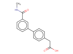 {4-[3-(Methylcarbamoyl)phenyl]phenyl}acetic acid 1375069-01-4 1C58389 MFCD22205789