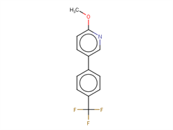 2-Methoxy-5-[4-(trifluoromethyl)phenyl]pyridine 1261467-29-1 1C58451 MFCD18421596