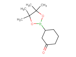 3-(Tetramethyl-1,3,2-dioxaborolan-2-yl)cyclohexan-1-one 302577-72-6 1C58555 MFCD18447549