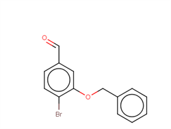 3-(Benzyloxy)-4-bromobenzaldehyde 736992-48-6 1C58556 MFCD09038131