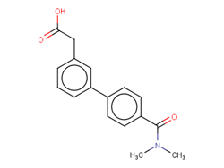 3-[4-(Dimethylcarbamoyl)phenyl]phenylacetic acid 1334500-12-7 1C58599 MFCD20231508