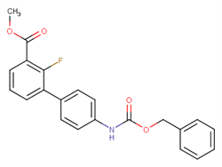 Methyl 3-[(4-Cbz-amino)phenyl]-2-fluorobenzoate 1381944-37-1 1C58663 MFCD22375049