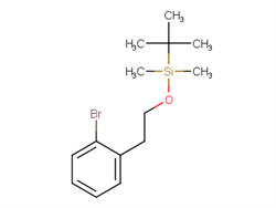 (2-Bromophenethoxy)(t-butyl)dimethylsilane 181021-20-5 1C58664 MFCD09258648