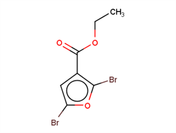 Ethyl 2,5-dibromofuran-3-carboxylate 32460-21-2 1C58806 MFCD17214259