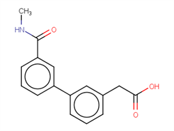 {3-[3-(Methylcarbamoyl)phenyl]phenyl}acetic acid 1375068-89-5 1C58817 MFCD22205794