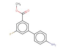 methyl 4'-amino-5-fluoro-[1,1'-biphenyl]-3-carboxylate 1334499-98-7 1C58820 MFCD20231504