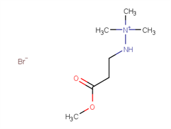 2-(3-methoxy-3-oxopropyl)-1,1,1-trimethylhydrazinium bromide 106966-25-0 2C91419 MFCD10465251