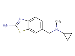 6-{[cyclopropyl(methyl)amino]methyl}-1,3-benzothiazol-2-amine  2C91623 MFCD21220542