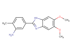 5-(5,6-dimethoxy-1H-1,3-benzodiazol-2-yl)-2-methylaniline  2C91678 MFCD11594980