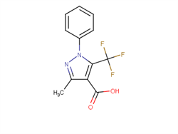 3-methyl-1-phenyl-5-(trifluoromethyl)-1H-pyrazole-4-carboxylic acid 497833-15-5 2C92007 MFCD20731102