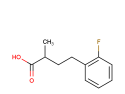 4-(2-fluorophenyl)-2-methylbutanoic acid 1225852-32-3 2C92143 MFCD16304268