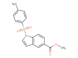 methyl 1-(4-methylbenzenesulfonyl)-1H-indole-5-carboxylate  2C92289 MFCD27965117