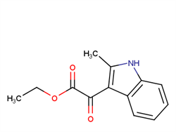 Ethyl 2-(2-Methyl-1H-Indol-3-Yl)-2-Oxoacetate 6628-34-8 1C10229 MFCD00022706