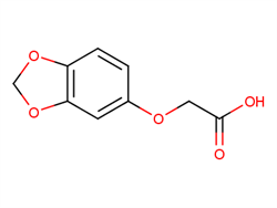 (1,3-benzodioxol-5-yloxy)acetic acid 106690-33-9 1C57856 MFCD03422207