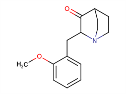 2-(2-methoxybenzyl)quinuclidin-3-one 196713-17-4 1C57905 MFCD08272310