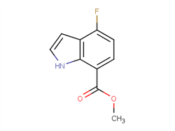 METHYL 4-FLUORO-1H-INDOLE-7-CARBOXYLATE 313337-35-8 2C40028 MFCD11845610
