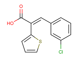 3-(3-chlorophenyl)-2-(thiophen-2-yl)prop-2-enoic acid 1017114-62-3 2C91133 MFCD06655660