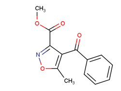 methyl 4-benzoyl-5-methyl-1,2-oxazole-3-carboxylate 104149-63-5 2C91177 MFCD16547672