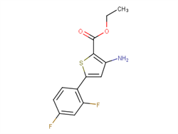 Ethyl 3-amino-5-(2,4-difluorophenyl)thiophene-2-carboxylate 1096972-46-1 2C91296 MFCD12568362
