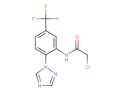 2-chloro-N-[2-(1H-1,2,4-triazol-1-yl)-5-(trifluoromethyl)phenyl]acetamide 792953-79-8 2C91307 MFCD06362446