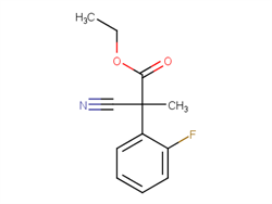 ethyl 2-cyano-2-(2-fluorophenyl)-2-methylacetate 1461705-64-5 2C91332 MFCD26407680