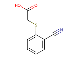 2-[(2-cyanophenyl)sulfanyl]acetic acid 98589-44-7 2C91406 MFCD11155589