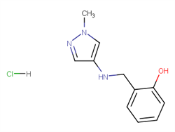 2-{[(1-methyl-1H-pyrazol-4-yl)amino]methyl}phenol 1856034-31-5 4C71457