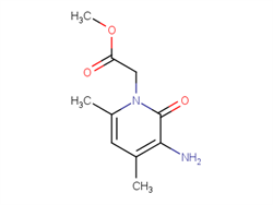 methyl (3-amino-4,6-dimethyl-2-oxopyridin-1(2{H})-yl)acetate 312517-64-9 4C71722
